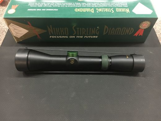 Nikko Stirling Diamond 15 6x44 Rifle Scope