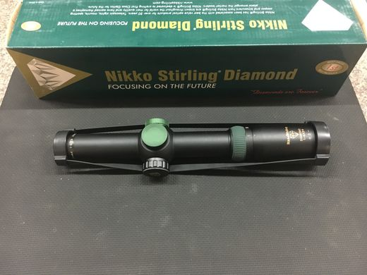 Nikko Stirling Diamond 1 4x24 Illuminated Scope