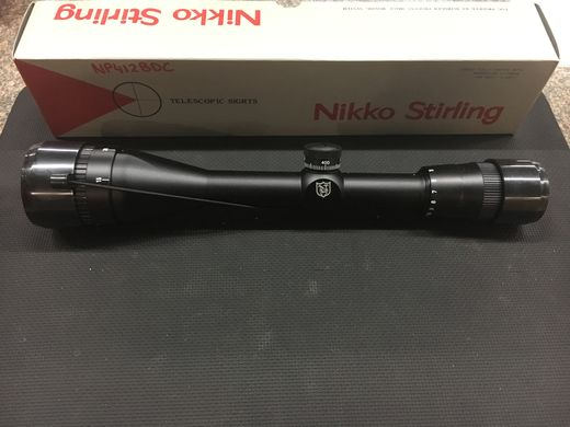 Nikko Stirling Platinum 4 12x44 BDC Wide Angle Scope