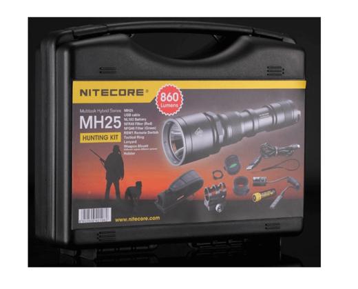 Nitecore MH25 Hunting Kit Combo 960 Lumens