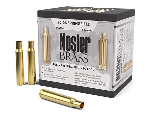 Nosler Custom 3006Sprg Unprimed Brass Qty 50