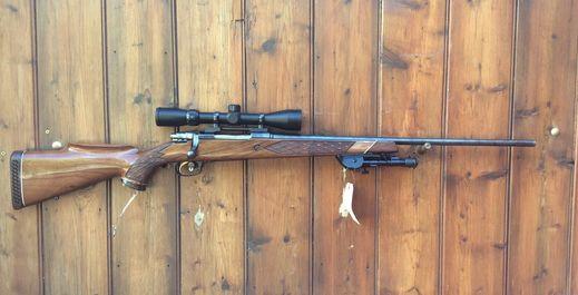 Parker Hale 1200 22 250Rem Scoped Rifle