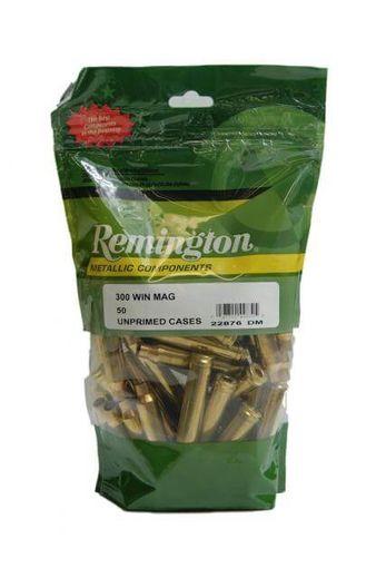 Remingto 300WinMag Unprimed Brass Qty 50
