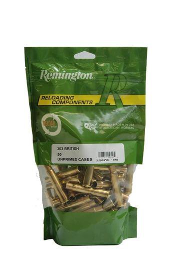 Remington 303British Unprimed Brass Qty 50