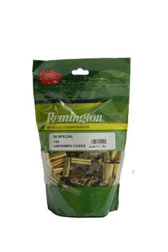 Remington 38Special Unprimed Brass Qty 100