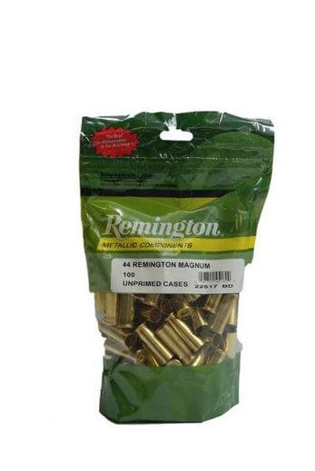 Remington 44RemMag Unprimed Brass Qty 100
