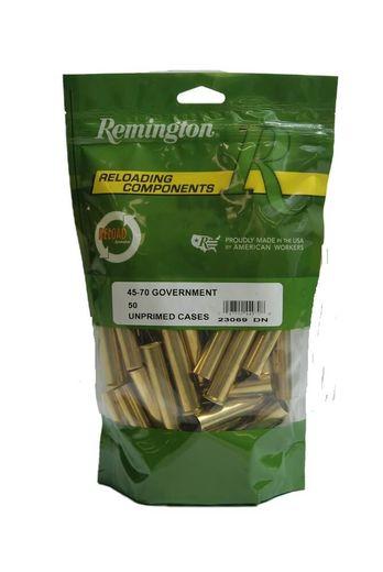 Remington 4570Govt Unprimed Brass Qty 50
