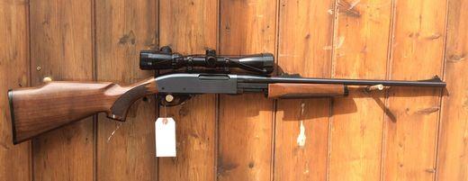 Remington 7600 243Win Pump Action Scoped Rifle