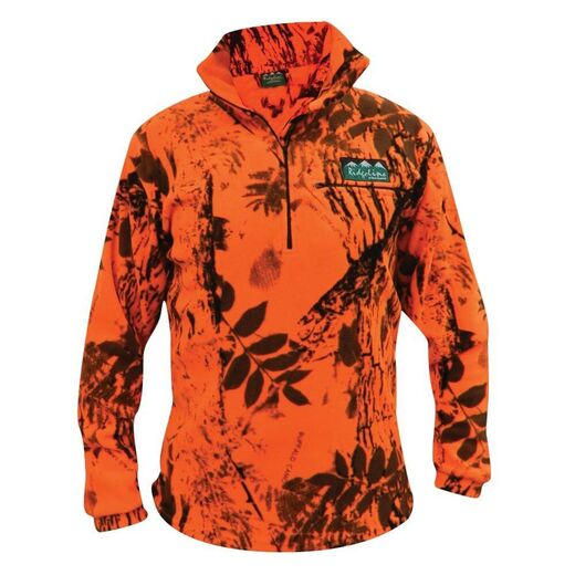 Ridgeline Mirco Long Sleeve Zip Shirt