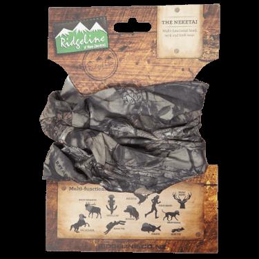 Ridgeline Neketai Headwear Buffalo Camo