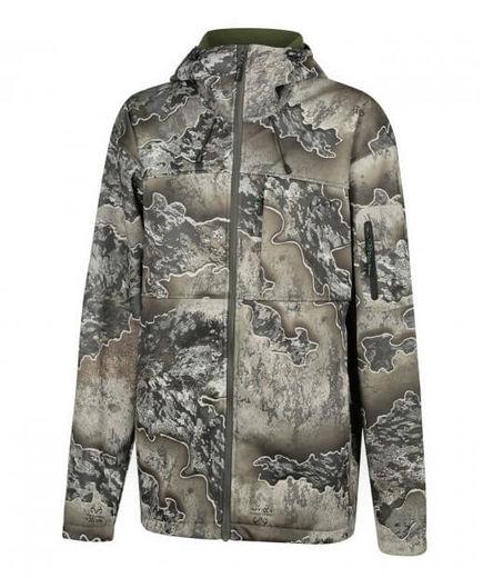 Ridgeline Womens Ascent Softshell Jacket  Excape Camo