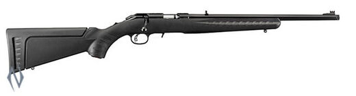 Ruger American Rimfire 22LR SyntheticBlued Threaded