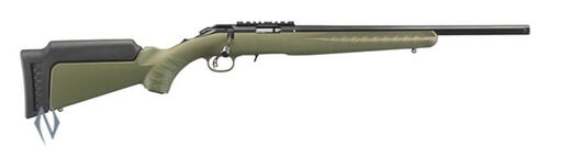 Ruger American Rimfire 22WMR 18+quot OD Green Rifle