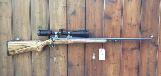 Ruger M77 Mk11 Varmint 22 250Rem Scoped Rifle