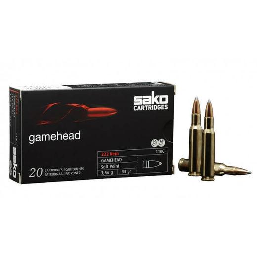Sako 300BLK 123Grain Gamehead Soft Point Pkt 20