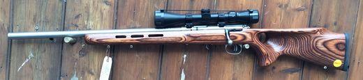 Savage 93 R17 Varmint Left Hand 17HMR Scoped Rifle