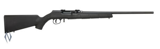 Savage A22MRF Repeater 22WMR Synthetic  Blue Rifle