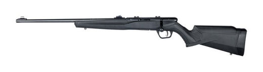 Savage B22F 22LR Left Hand SyntheticBlue Rifle