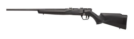 Savage B22F 22WMR Left Hand SyntheticBlue Rifle