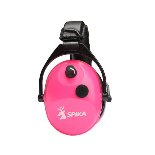 Spika Ear Muffs Electronic Pink