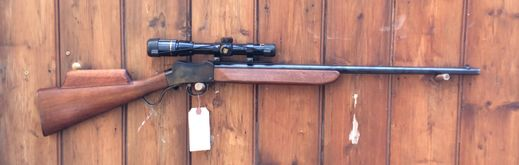 Sportco Omark 22LR Scoped Martin Henry Action Rifle