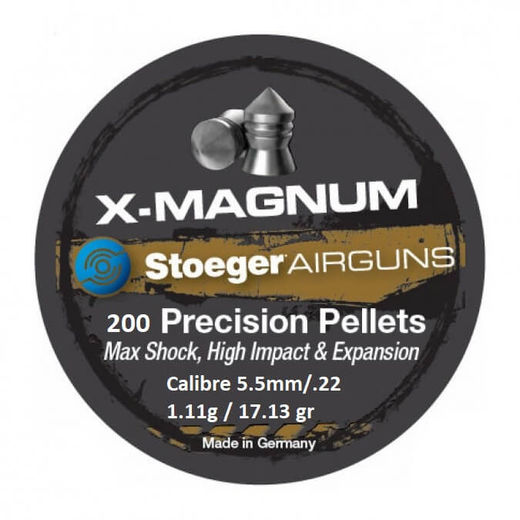Stoeger XMagnum Point 22Cal Air Rifle Pellets Qty 200