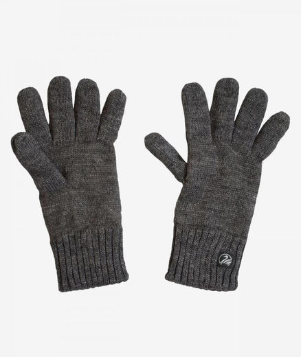 Swanndri Finger Gloves Charcoal Marle