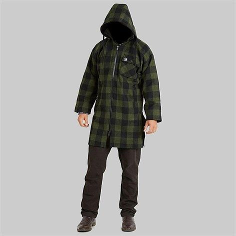 Swanndri Men+39s Mosgiel Wool Zip Front Bush Shirt