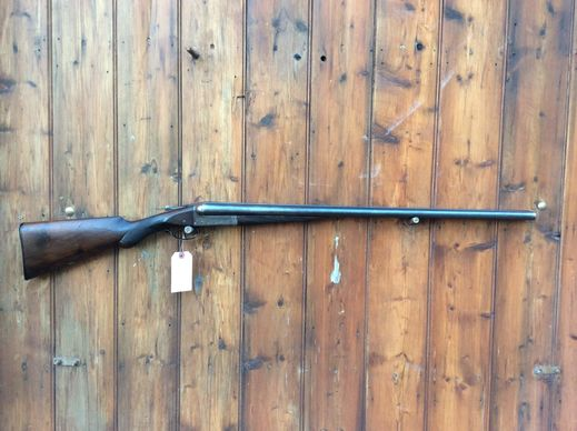 WW Greener Grd E10 12Gauge SxS Shotgun