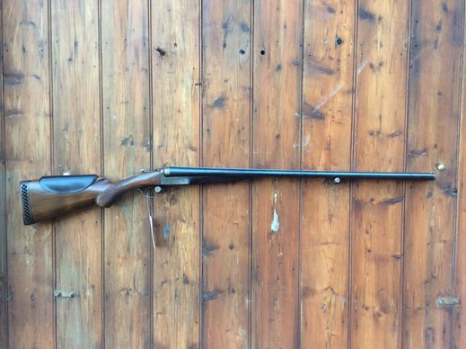 Walter Betts M4E 12Gauge SxS Shotgun