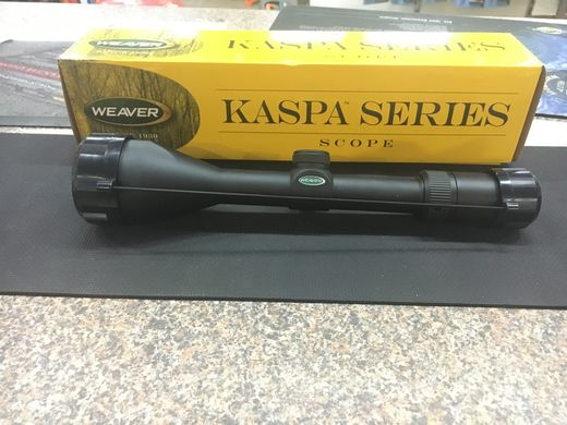 Weaver Kaspa Series 3 12x50 Dual X Retical Scope