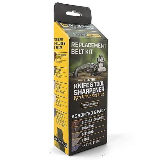 Worksharp Replacement Belt Pack For WSKTS KO