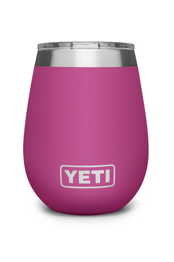 YETI Rambler 10oz Wine Tumbler   Prickly Pear Pink
