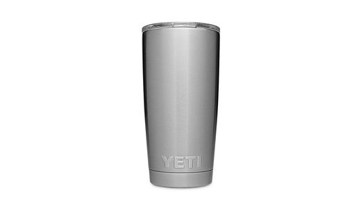 YETI Rambler 20oz Tumbler Silver With MagSlider Lid