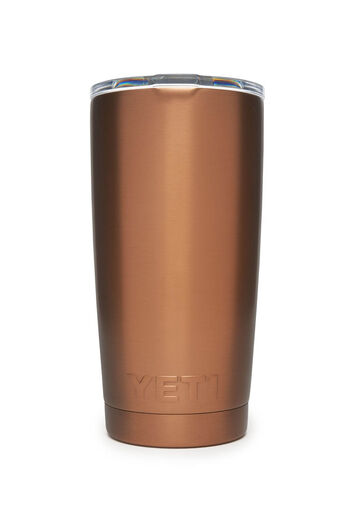 YETI Rambler 20oz Tumbler   PVD Copper With MagSlide Lid