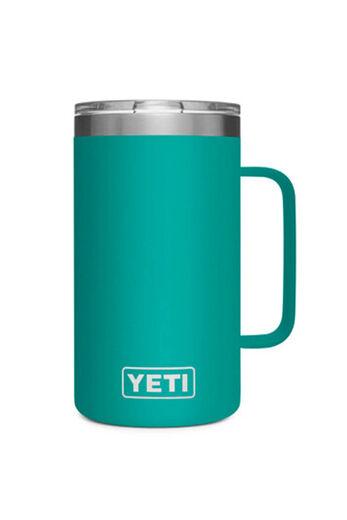YETI Rambler 24oz Mug   Aquifer Blue