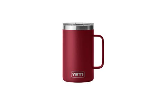 YETI Rambler 24oz Mug   Harvest Red