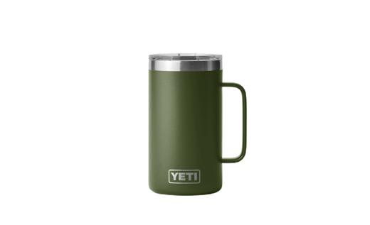 YETI Rambler 24oz Mug   Highland Olive