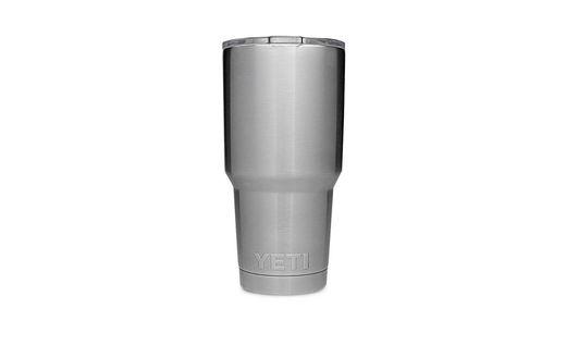 YETI Rambler 30oz Tumbler Sliver Vacuum Insulated Lid