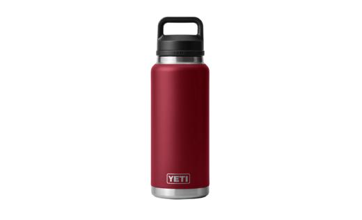 YETI Rambler 36oz Bottle Harvest Red With Chug Cap