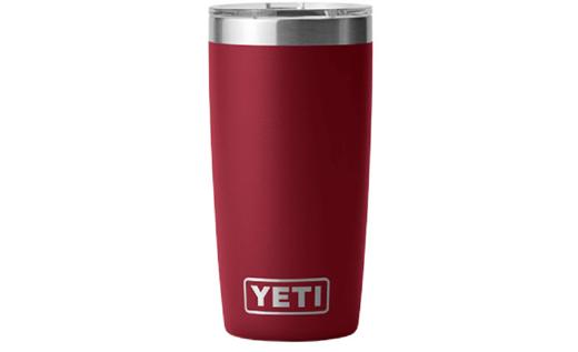 YETI Rambler R10 10oz Tumbler With MagSlide Lid   Harvest Red