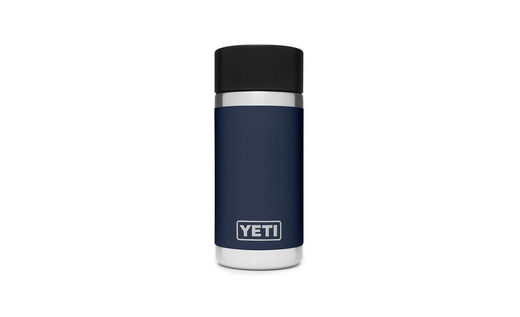 YETI Rambler R12 Bottle 12oz Navy With Hot Shot Cap