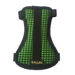 Allen 2 Strap Mesh Armguard Black/Hot Green