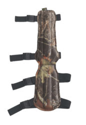 Allen 4-Strap Armguard Mossy Oak Break Up Camo