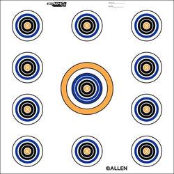 Allen Ez-Aim 11 Spot Targets 12 Sheets