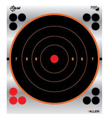"Allen Ez-Aim 9"" Reflective Bullseye Target Pack Of 6"