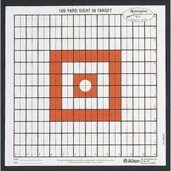 Allen Remington Target Grid Style 100 Yards Sight In 12 Pack