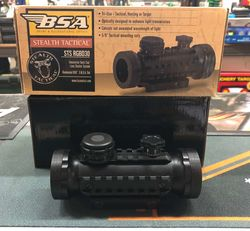BSA Stealth Tactical Red Dot Sight