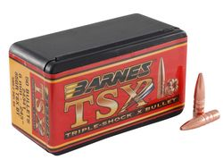 "Barnes 30Cal .308"" 165Gr TSX BT Projectiles"