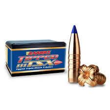 Barnes 6mm (.243) 80Gn TTSX BT 50 Pack Projectiles